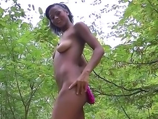 Exotic female bonking inside public