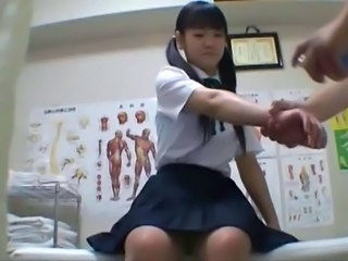 Doctor Pigtail Uniform Asian Teen Doctor Teen Japanese School