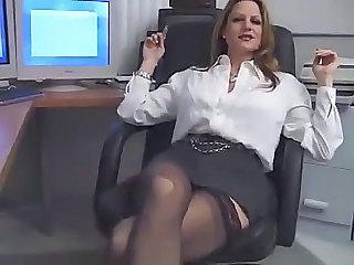 Secretary MILF Office Milf Office Milf Stockings Office Milf