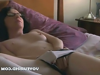 Brunette Glasses Masturbating Glasses Teen Masturbating Teen Panty Teen