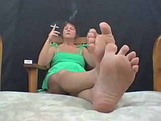Smoking Feet Fetish
