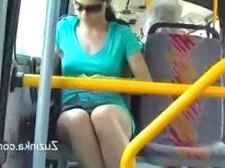 Video from: empflix | Zuzinka touches herself on a bus