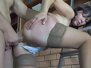 Mom Stockings Anal Anal Mom Doggy Ass Mature Anal