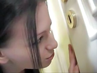 Cute Teen Voyeur Bathroom Teen Cute Teen Teen Bathroom