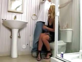 Toilet  Housewife Wife Milf