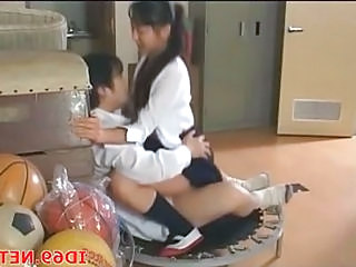 Clothed School Riding Asian Teen Riding Teen School Teen
