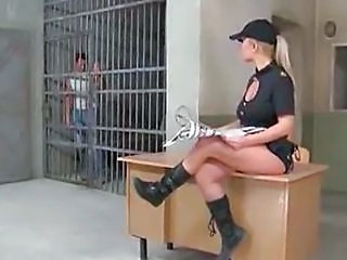 Prison Uniform MILF Rough Son