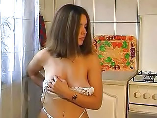 Kitchen Lingerie Masturbating Cute Masturbating Cute Teen Kitchen Teen