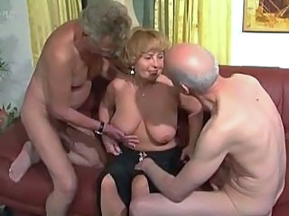 Videos from: pornoxo | Filthy Grandma Handles Two Dongs