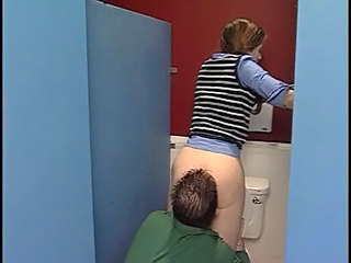 Toilet Clothed Licking Clothed Fuck