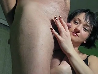 Small cock Handjob  Cfnm Handjob Girlfriend Amateur Girlfriend Cock