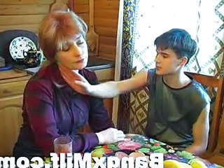 Mom Old and Young Russian Homemade Mature Homemade Teen