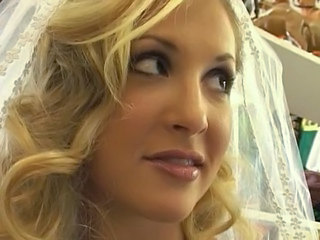 Bride Cute Blonde