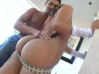 Blonde Jenny Has Got One Fine Ass