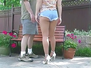 Legs MILF Outdoor Milf Pantyhose Outdoor