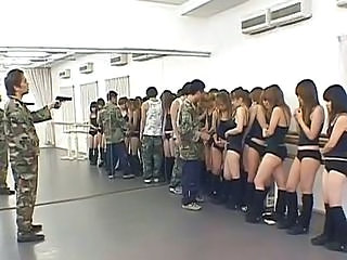 Forced Orgy Army  Asian Teen Forced