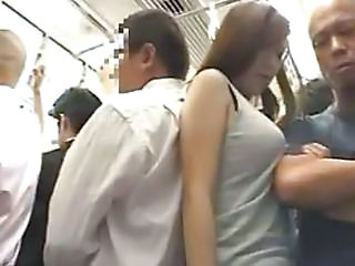 Bus Teen Japanese Asian Teen Bus + Asian Bus + Public