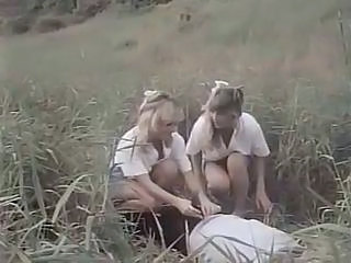 Outdoor Teen Threesome Classic Teen Outdoor Outdoor Teen