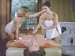 Candida Massage Table Threesome