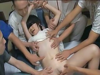 Video from: yobt1 | Cute Asian Babe In Hot Gang Bang...