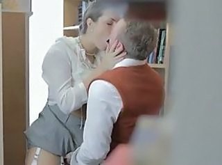 Office Kissing  British British Fuck British Milf