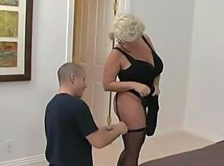 blonde mom and boy _: hardcore milfs old + young