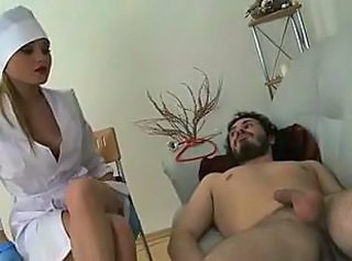Medical bitch used her patient _: femdom handjobs russian strapon