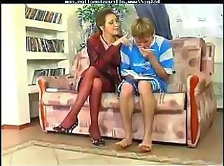 Russian Legs  Milf Stockings Old And Young Russian Milf