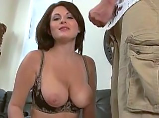 milf sucks cock in her bra _: blowjobs facials lingerie
