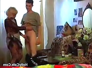 Granny Takes A Bottle And Dick Amateur