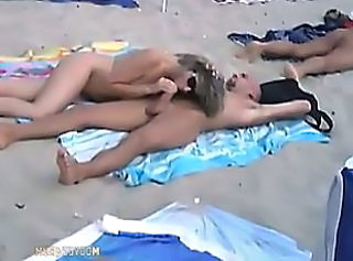 Cap D Agde Volume 4 Part 1 - French Amateur Couples having Sex on the Beach