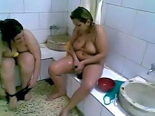 Arab Bathroom Chubby Arab  Arab Mature