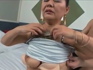 anal with asian granny