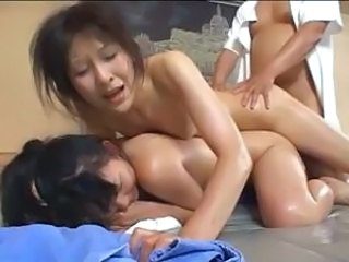 Forced Japanese Threesome Abuse Asian Babe