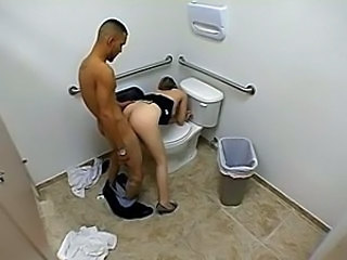 Toilet Voyeur HiddenCam Doggy Teen Hardcore Teen Hidden Teen