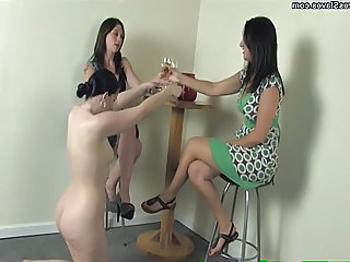 Female Foot Slave Worshiping Feet