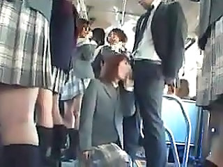 blowjob in bus in front of onlookers