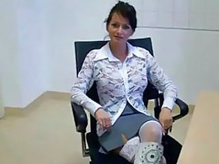 Skirt Brunette  Milf Office Office Milf Vagina