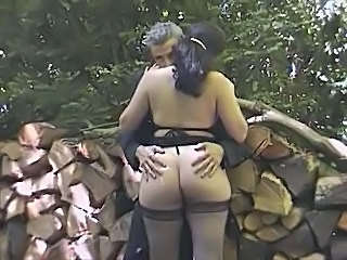 European Ass Outdoor European French French Milf