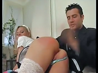 Spanking Babe Stockings Babe Ass Stockings