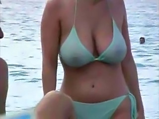 Beach Bikini Voyeur Outdoor