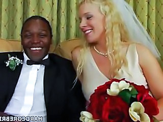 Bride Hardcore Interracial MILF Bride Sex British Mature