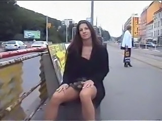 Yover no panties public