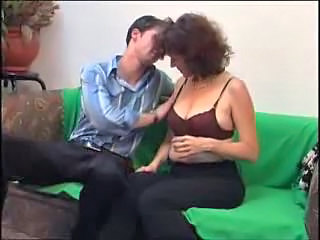 mature hairy russian woman gets fucked hard by young cock