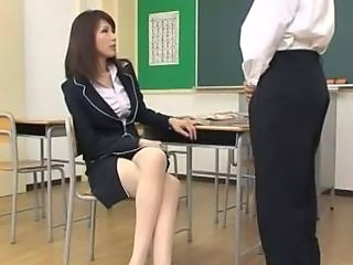 School Teacher Asian Blowjob Japanese Blowjob Milf Classroom