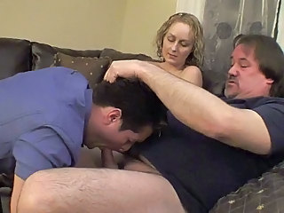 Cuckold Bisexual Wife Boss Blowjob Pov