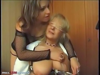 French mature couple and young couple free