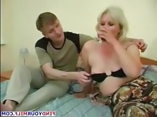 Old and Young Russian Amateur Drunk Mature  Old And Young