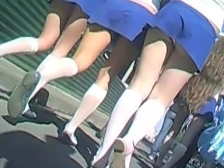 Upskirt Skirt Cheerleader Cheerleader Upskirt Upskirt Teen
