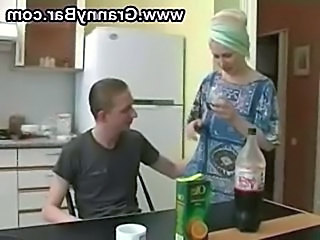 Mom Russian Amateur  Mom Son Old And Young